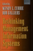 Cover for Rethinking Management Information Systems
