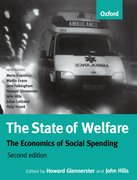Cover for The State of Welfare