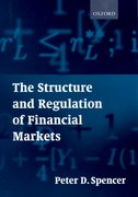 Cover for The Structure and Regulation of Financial Markets