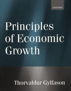 Cover for Principles of Economic Growth