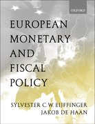 Cover for European Monetary and Fiscal Policy