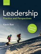 Cover for Leadership - 9780198777106