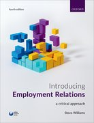 Cover for Introducing Employment Relations - 9780198777120