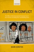 Cover for Justice in Conflict - 9780198777151