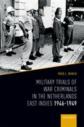 Cover for Military Trials of War Criminals in the Netherlands East Indies 1946-1949