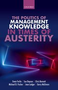 Cover for The Politics of Management Knowledge in Times of Austerity