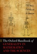 Cover for The Oxford Handbook of Generality in Mathematics and the Sciences