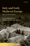 Cover for Italy and Early Medieval Europe