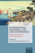 Cover for International Economic Law and Governance