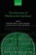 Cover for The Structure of Words at the Interfaces