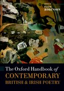 Cover for The Oxford Handbook of Contemporary British and Irish Poetry