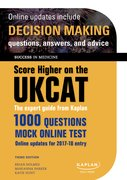 Cover for Score Higher on the UKCAT