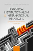 Cover for Historical Institutionalism and International Relations