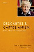 Cover for Descartes and Cartesianism