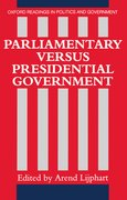 Cover for Parliamentary Versus Presidential Government