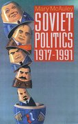Cover for Soviet Politics 1917-1991