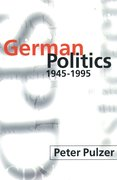 Cover for German Politics 1945-1995