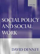 Cover for Social Policy and Social Work