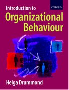 Cover for Introduction to Organizational Behaviour