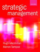 Cover for Strategic Management