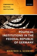 Cover for Political Institutions in the Federal Republic of Germany