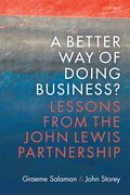 Cover for A Better Way of Doing Business? - 9780198782827