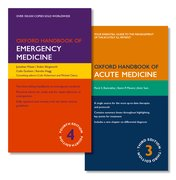 Cover for PACK OF OXFORD HANDBOOK OF EMERGENCY MEDICINE AND OXFORD HANDBOOK OF ACUTE MEDICINE