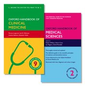 Cover for Oxford Handbook of Clinical Medicine and Oxford Handbook of Medical Sciences Pack