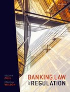 Cover for Banking Law and Regulation