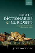 Cover for Small Dictionaries and Curiosity