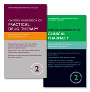 Cover for Oxford Handbook of Practical Drug Therapy 2e and Oxford Handbook of Clinical Pharmacy 2e