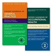 Cover for Oxford Handbook of General Practice 4e and Oxford Handbook of Occupational Health 2e