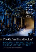 Cover for The Oxford Handbook of Sociology, Social Theory, and Organization Studies