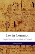Cover for Law in Common