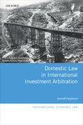 Cover for Domestic Law in International Investment Arbitration