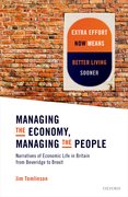 Cover for Managing the Economy, Managing the People