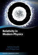 Cover for Relativity in Modern Physics