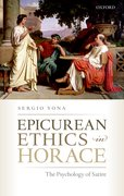 Cover for Epicurean Ethics in Horace
