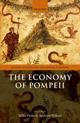 Cover for The Economy of Pompeii - 9780198786573