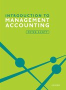 Cover for Introduction to Management Accounting - 9780198787389