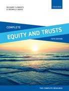 Cover for Complete Equity and Trusts