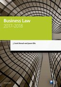 Cover for Business Law 2017-2018