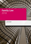 Cover for Family Law 2018