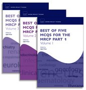 Cover for Best of Five MCQs for the MRCP Part 1 Pack