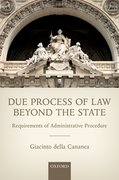 Cover for Due Process of Law Beyond the State