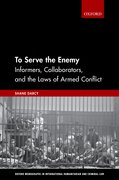 Cover for To Serve the Enemy