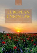Cover for European Union Law - 9780198789130