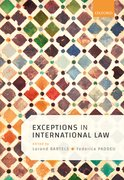 Cover for Exceptions in International Law