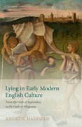 Cover for Lying in Early Modern English Culture