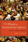 Cover for From Plural to Institutional Agency